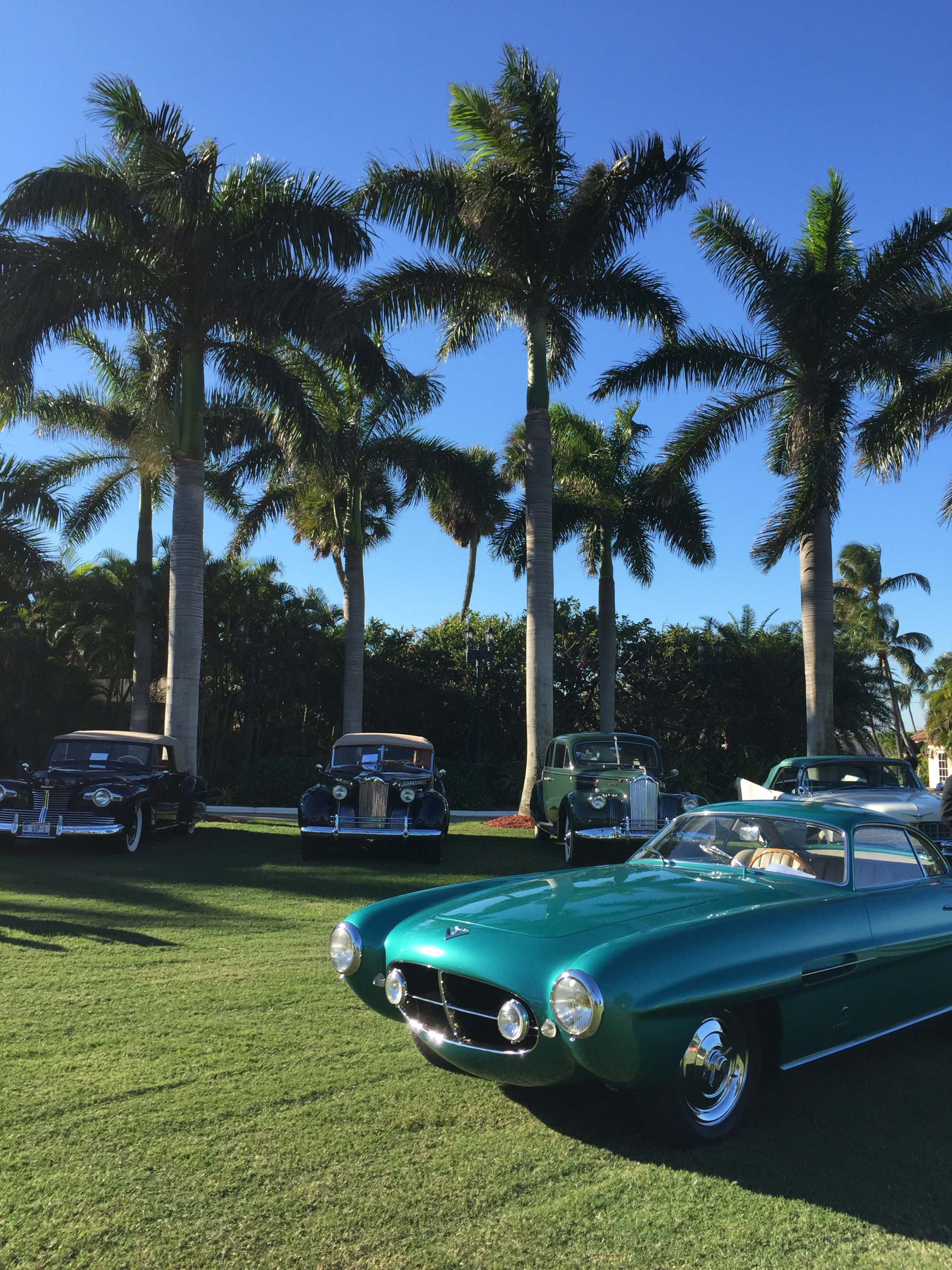 1953 Fiat 8V Supersonic at Mar-a-Lago. Photo by Bradley Price.