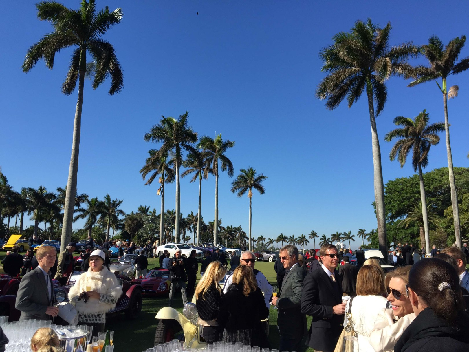 Collectible car eventing at Mar-a-Lago. Photo by Bradley Price.