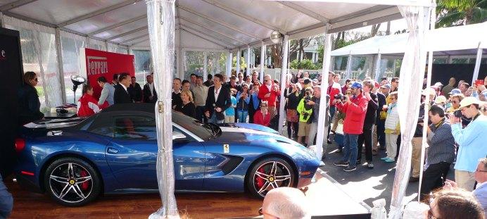 Launch of the Ferrari F60 America.