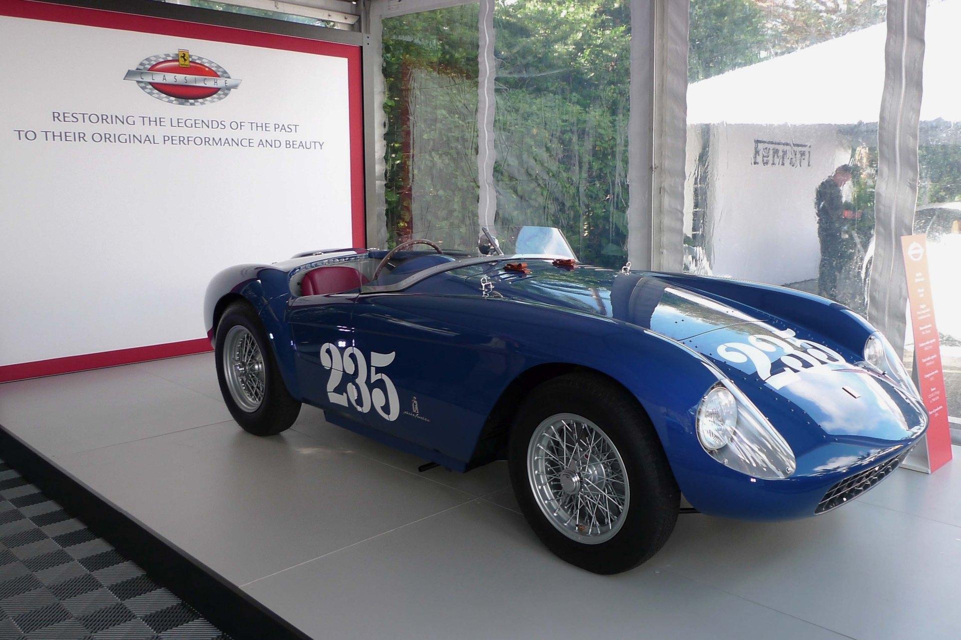 Ferrari Classiche. Photo by Simon Aldridge.