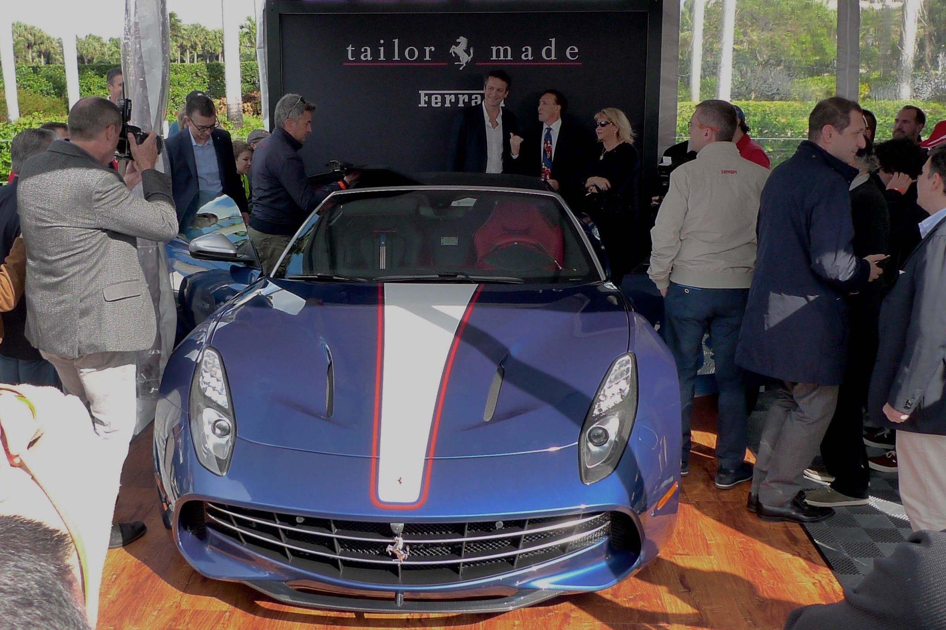Ferrari Tailor Made customized the first Ferrari F60.