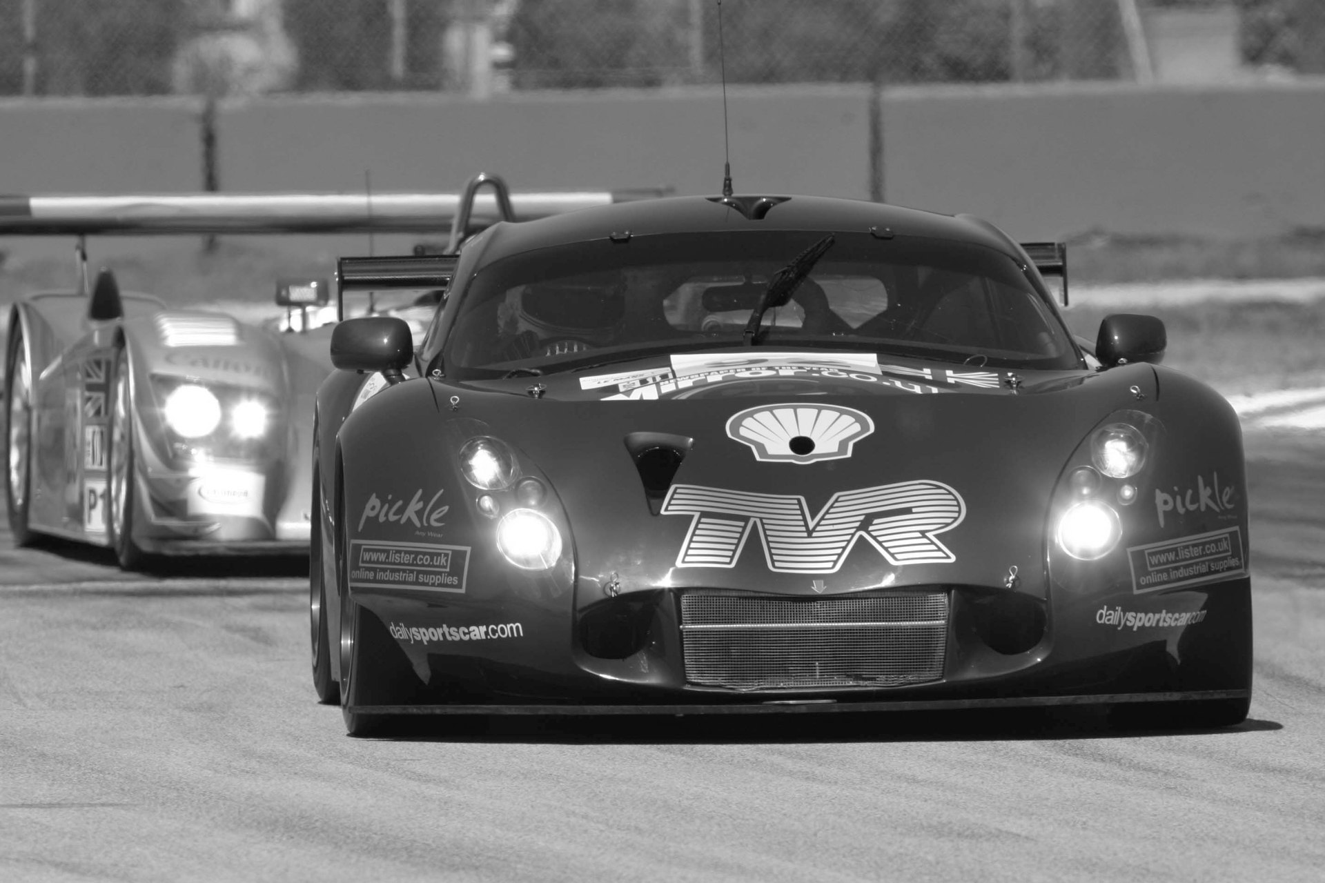 TVR racing at Le Mans in 2005.