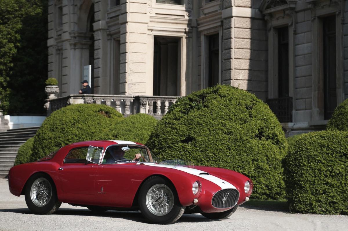1954 Maserati A6GCS:53 Berlinetta by Pinin Farina