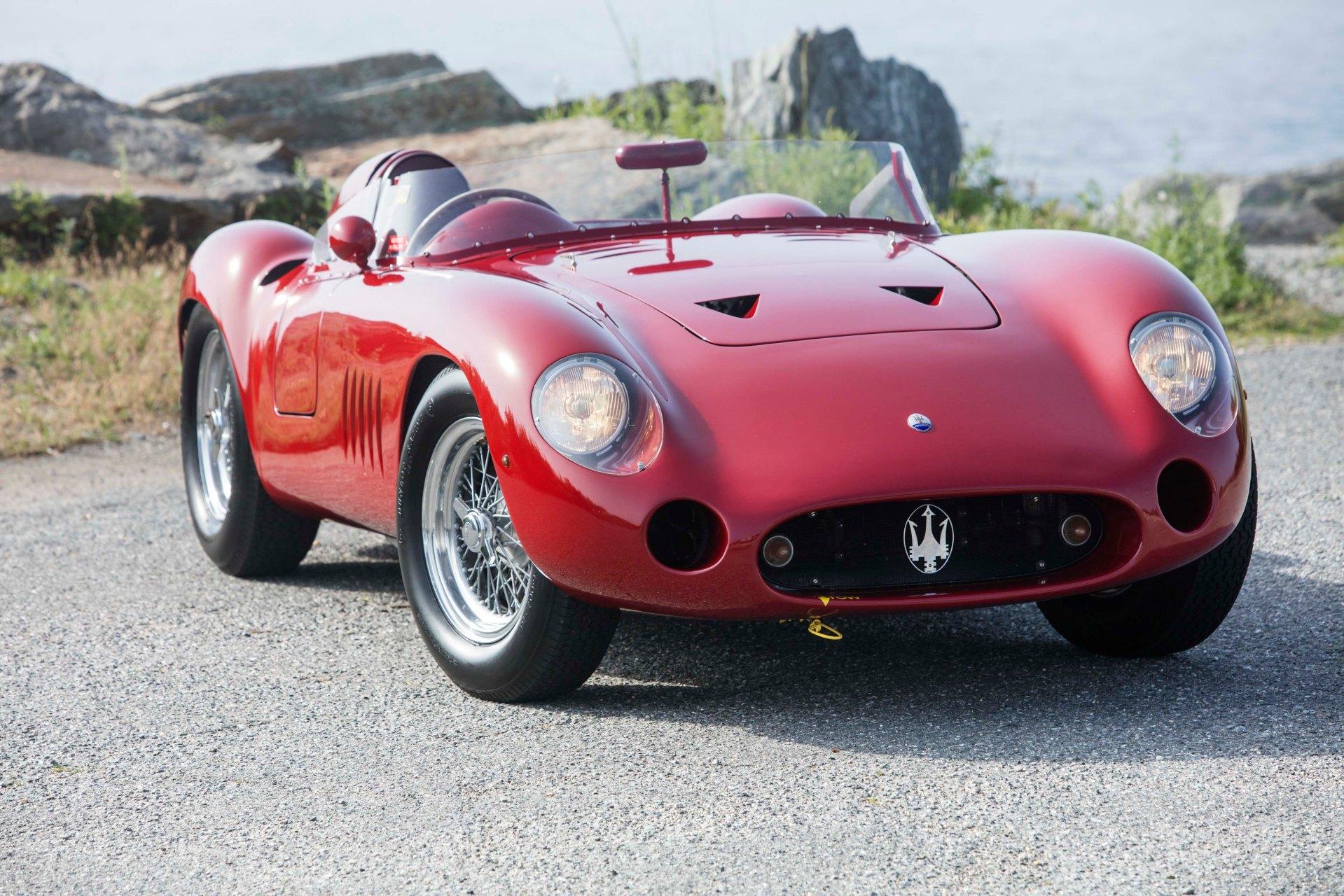 1957 Maserati 300S 13