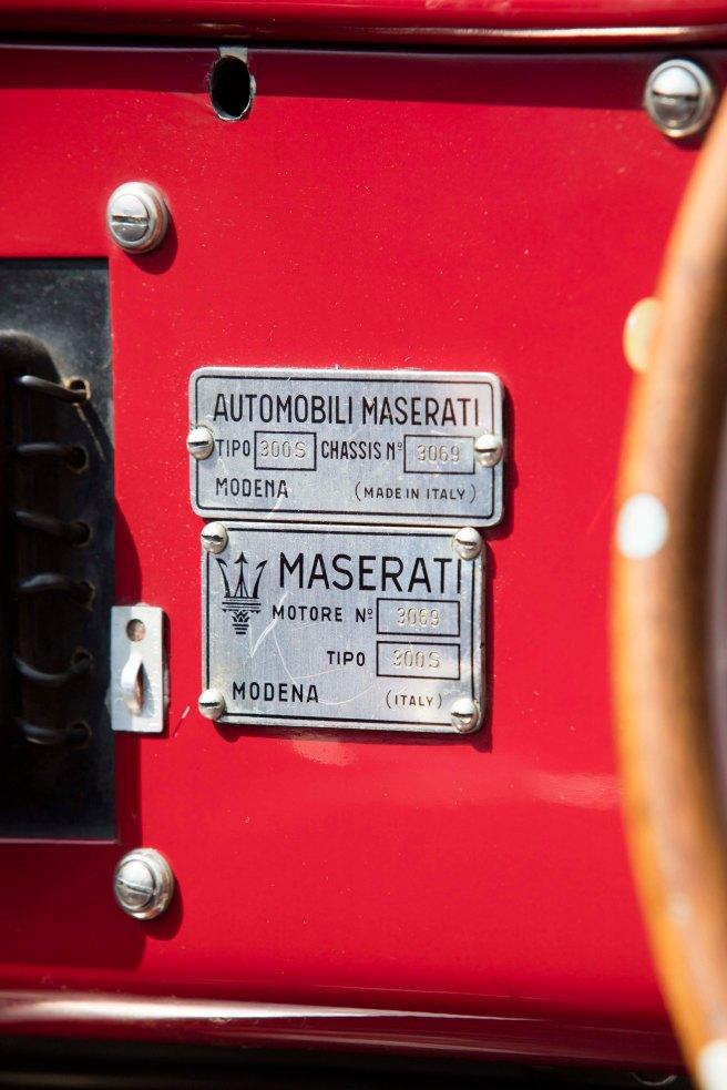 1957 Maserati 300S 63
