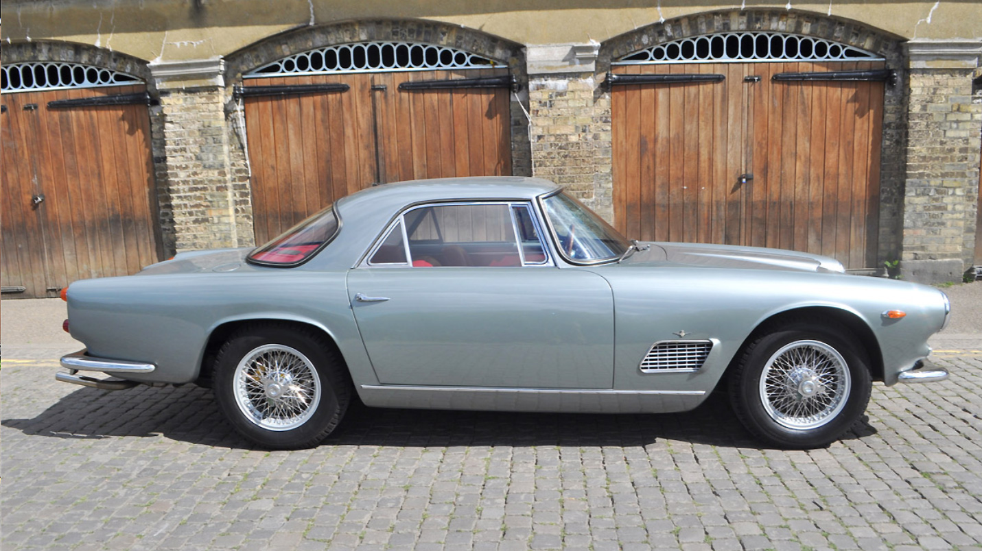 1963 Maserati 3500 GTI. Photo courtesy of COYS.
